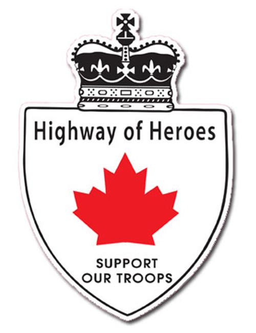 """Highway Of Heroes 4"""" - Sticker"""