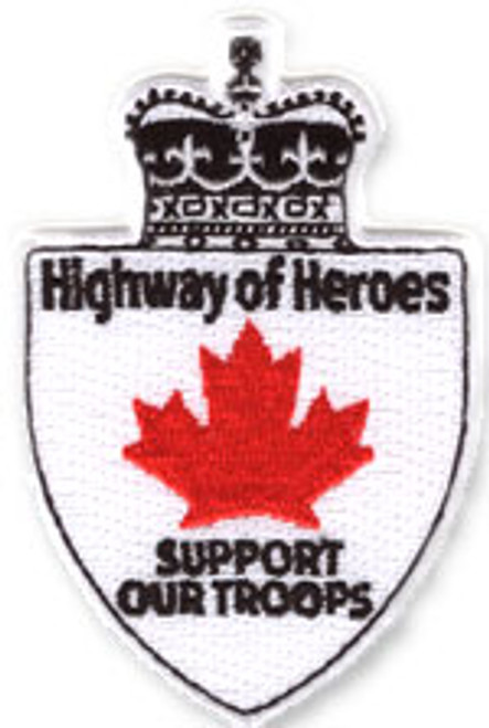 Highway of Heroes Embroidered Patch