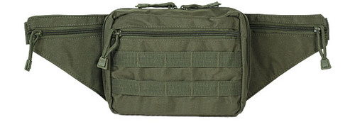 Voodoo Tactical Fanny Pack w/ Conceal Carry Pistol Holster - OD Green