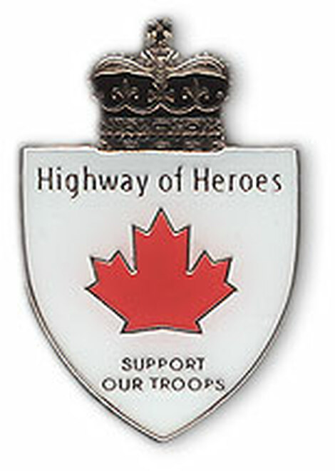 Highway Of Heroes Lapel Pin