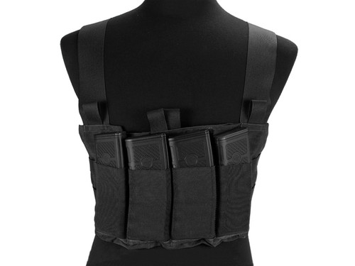 Blue Force Gear Ten-Speed M4 MOLLE Chest Rig - Black