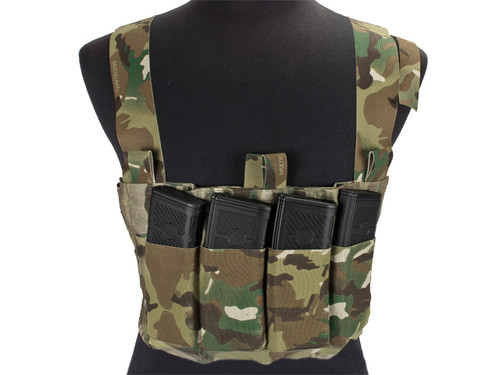 Blue Force Gear Ten-Speed MP7 MOLLE Chest Rig - Coyote Brown