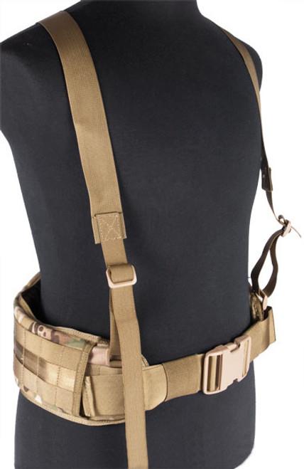 Matrix TMC MOLLE Gen II Belt with Suspenders