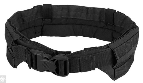 TMC Padded Modular Duty / Battle / Rig Belt - Black