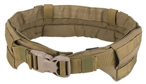 TMC Padded Modular Duty / Battle / Rig Belt - Coyote Brown