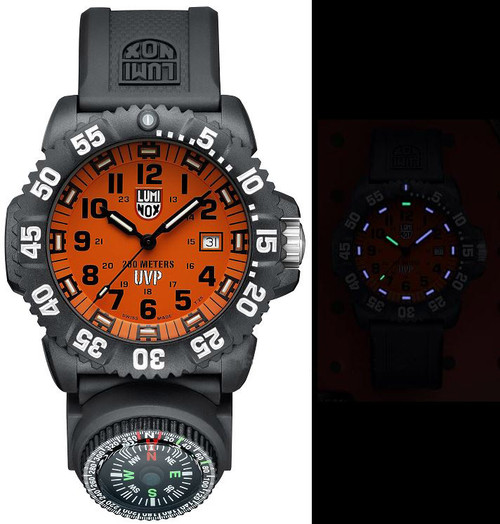 Luminox Sea A.3059.SET Scott Cassell Special w/ Extra Straps