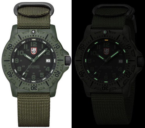 Luminox Land A.8817.GO Black Ops Carbon Series