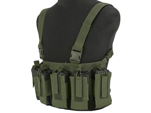 Gryffon Defense CR4 Low Profile Chest Rig - OD Green