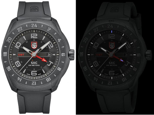 Luminox Space A.5021.GN SXC PC Carbon GMT Space Series