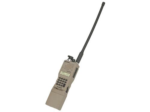 FMA High-Grade Dummy PRC-152 Radio with Detachable Antenna - Dark Earth