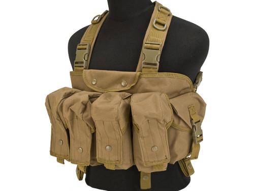 Lancer Tactical AK Chest Rig - Tan