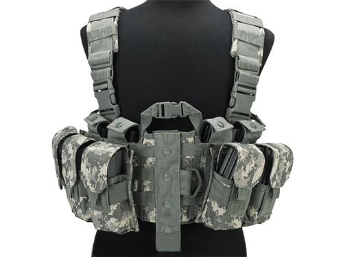 Lancer Tactical High Speed M4/M16 Chest Rig - ACU