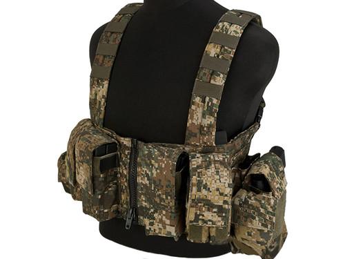 LBX Tactical Lock & Load Chest Rig - Caiman