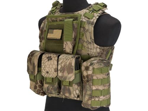 Avengers MOD-II Quick Release Body Armor Vest - Forest Serpent