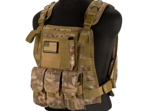 Avengers Tactical Spec. OPS MOLLE Plate Carrier / Load Bearing Vest - Desert Serpent