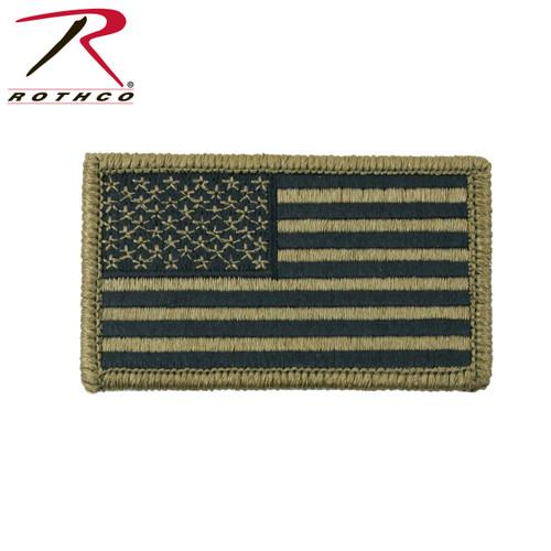 OCP American Flag Patch w/Hook Back