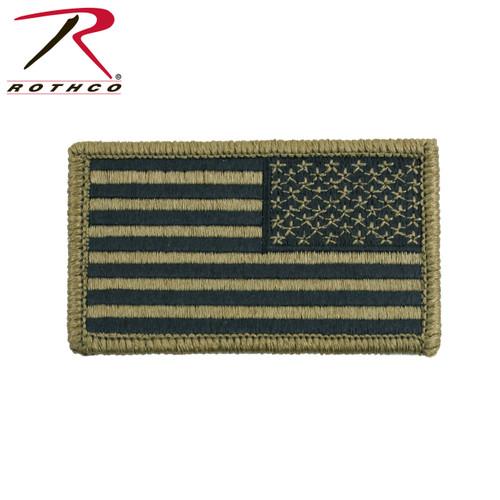 OCP American Flag Patch w/Hook Back - Reversed