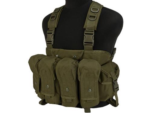 Lancer Tactical AK Chest Rig - OD Green
