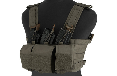 Mayflower Research and Consulting 7.62 Hybrid Chest Rig - Ranger Green