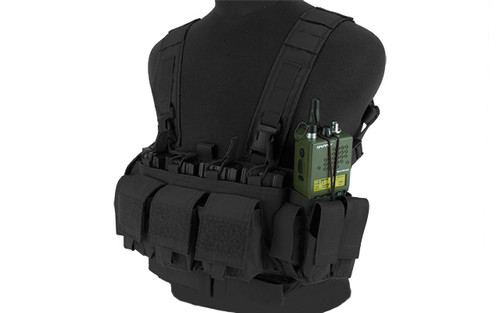 Mayflower Research and Consulting LE/Active Shooter Chest Rig - Black
