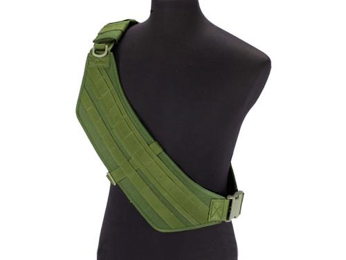 Phantom Gear MOLLE Ready Tactical High Speed Bandolier - OD Green