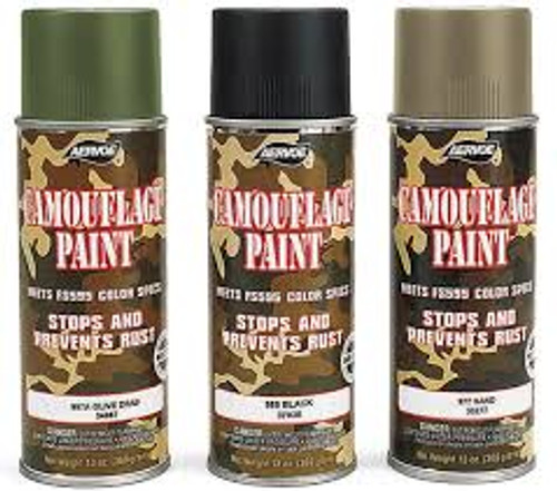 Aervoe Camouflage Spray Paint