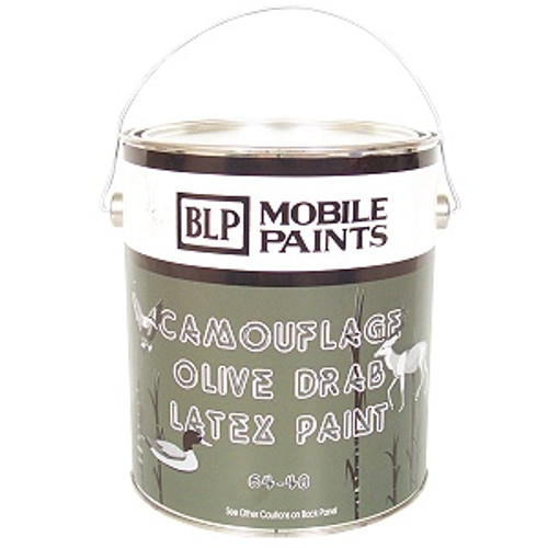 BLP Mobile Paint Oil 1 Gallon - Olive Drab - 6 Pack