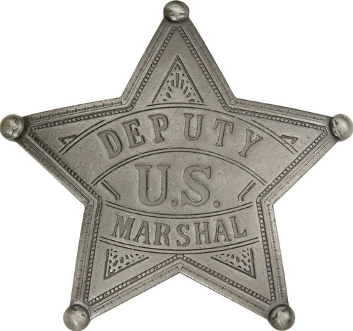 BOTOW Deputy US Marshall Badge