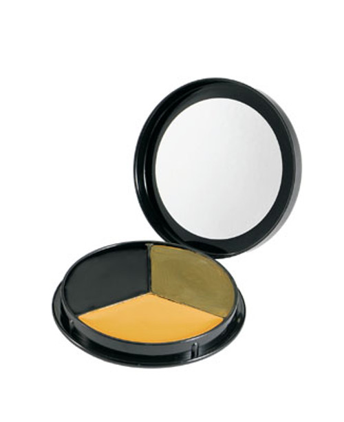 U.S. Armed Forces Round 3 Color Camo Face Paint Compact