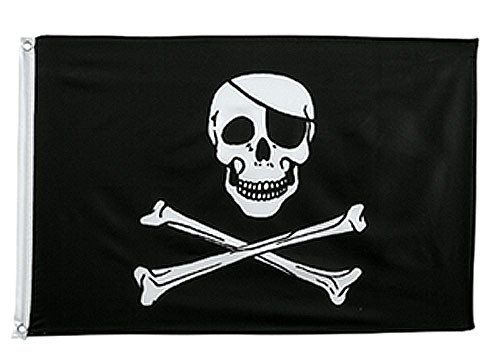 Jolly Roger Flag - 3' x 5'
