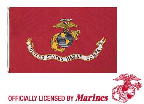 United States Marine Corps Flag - Red