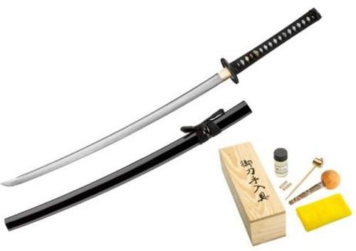 Boker Magnum Sword 05ZS580 Forged Damascus Samurai Sword