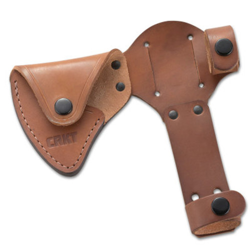 CRKT D2730 Leather Sheath For Woods Chogan
