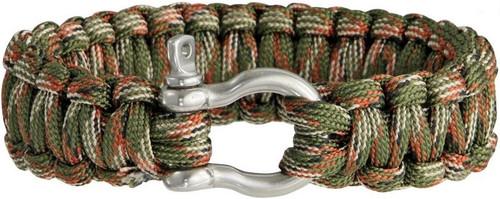 Colt 3026 SPEAR Survival Bracelet - Woodland Camo
