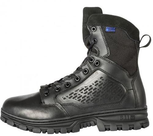 "5.11 EVO 6"" Waterproof Boot w/ Sidezip - Black"
