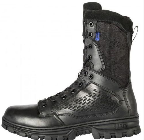 "5.11 EVO 8"" Waterproof Boot with Sidezip - Black"