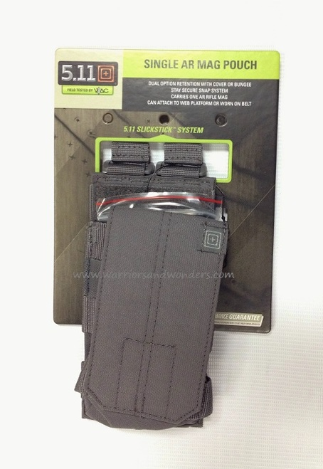 5.11 AR /G36 Single Bungee Cover Pouch - Storm Grey