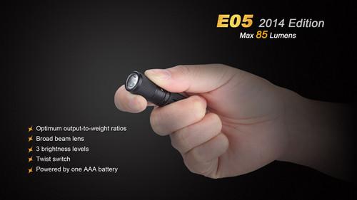 Fenix E05 2014 Edition - 85 Lumens
