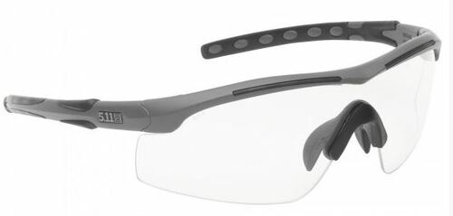 c3f5d56cb89 5.11 Aileron Shield Sunglasses (3 Lenses) - Matte Black - Hero Outdoors