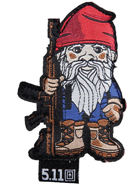 5.11 Tactical Patch Tactical Gnome - Range Red