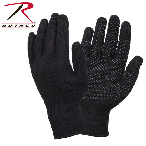 Rothco Touch Screen Gloves w/Gripper Dots