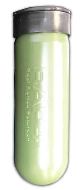 100 Round Olive Paintball Pod