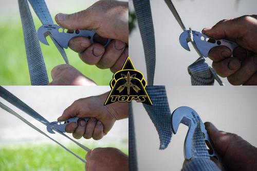 TOPS FDX25 FDX Cord & Line Cutter Kydex Sheath