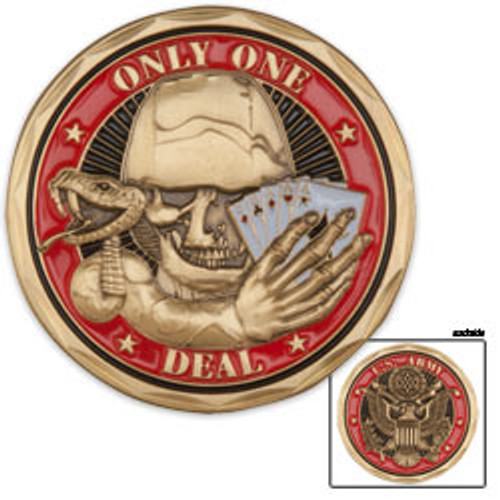 U.S. Army Only One Deal Coin