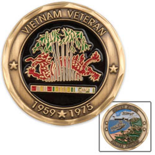 USAF Vietnam Veteran Coin