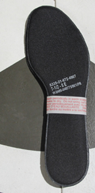 Canadian Armed Forces D-Gel Boot Insoles