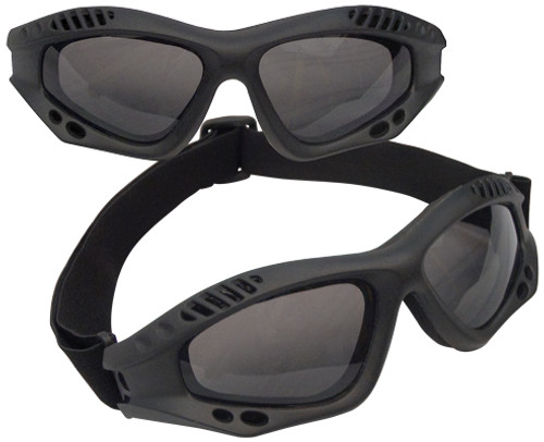 Rothco Tactical Goggles - Black