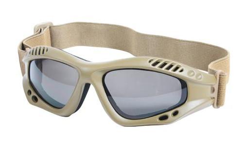 """Ventec Tactical Goggles - Coyote """"CE"""""""