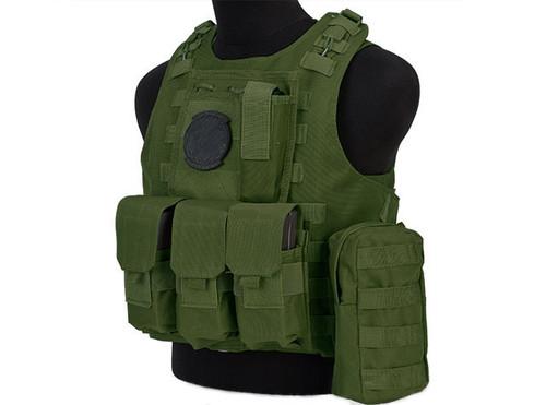 Avengers MOD-II Quick Release Body Armor Vest - OD Green