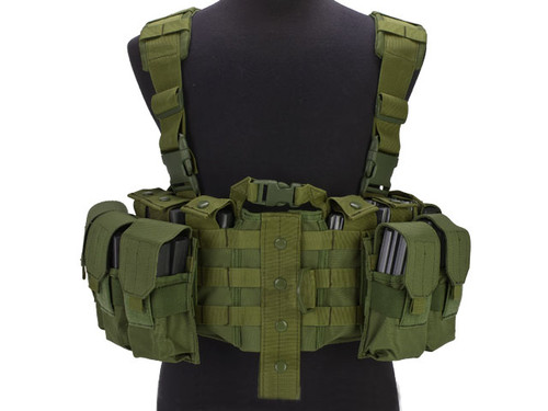 AIRSOFTCON EPIC DEAL) Avengers MOLLE Tactical Assault Vest - OD Green